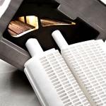 Realisierung der Innenkontur einer Gasturbinenschaufel mit 2 Kernen (Gussteil 270 x 170 x 170 mm)